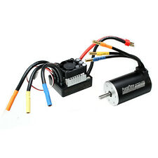 Racerstar 3660 Brushless Waterproof Sensorless Motor 80A ESC For 1/8 1/10 Short