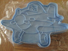 DISNEY PLANES BISCUIT COOKIE ICING CUTTER LARGE 14CM & EMBOSSER DUSTY BNIP