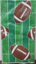 FOOTBALL TABLECOVER 54x96 Tailgating Party Decoration Sports Fan Super Bowl NEW