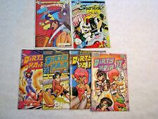 Dirty Pair, Dominion, Lensman, Area88, Manga Comics Lot, Ex Cond., Ships Free.