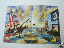LEGO BROCHURE FLYER CATALOG TOYS 2004 PIRATES DUTCH 2 PAGES 064