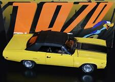 GMP DieCast Car 1:18 Plymouth Road Runner Convertible Lemon Twist #G1803104 RARE