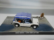 AUSTIN MINI MOKE LIVE AND LET DIE JAMES BOND 007 DeAGOSTINI IXO 1:43