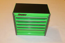 Snap On Extreme Green Mini Bottom Roll Cab Tool Box Rare  Brand New