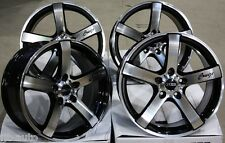 "18"" CRUIZE BLADE BP ALLOY WHEELS FIT RENAULT CLIO MEGANE SPORT 197 & 225"