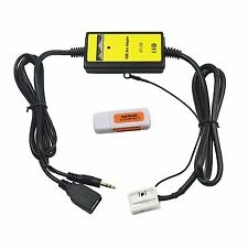 Audio Per Auto MP3 Interfaccia USB SD AUX Adattatore Per 12 pin VW Audi
