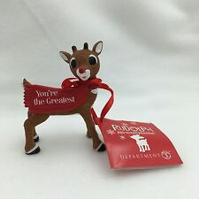 2016 Dept 56 Rudolph Ornament You're the Greatest # 4057210