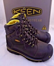 "NWB KEEN Utility MILWAUKEE 6"" Soft Toe Work Boots Men's Size 11 D RETAIL $150"
