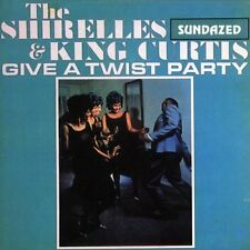 THE SHIRELLES + KING CURTIS give a twist party CD ss USA sundazed 60s r+b L@@K