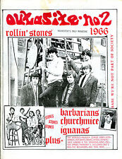 Outasite magazine No.2 (USA 1980s) 60s / Garage / Beat / The Rolling Stones