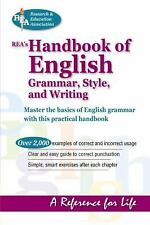 REA's Handbook of English Grammar, Style, and Writing (Language Learning) The E
