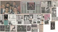 DEXYS MIDNIGHT RUNNERS : CUTTINGS COLLECTION -adverts interviews- 80s