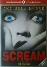 SCREAM - Craven DVD Arquette Campbell Cox Lillard McGowan Barrymore OOP
