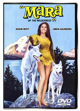 Mara of the Wildernes 1965 DVD - Adam West, Linda Saunders, Theodore Marcuse