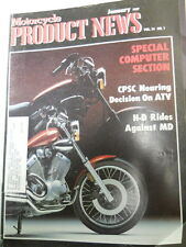 Motorcycle Product News, Jan 1987, CPSC Nearing Decision on ATV,   Blue box 2