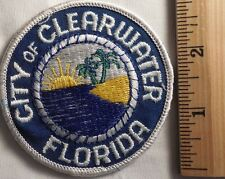 CITY OF CLEARWATER FLORIDA PATCH (SOUVINER, TRAVEL)