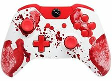 """""""Bloody Hands"""" Xbox One Rapid Fire Modded Controller, COD IW BO3, Destiny.."""