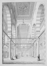ARCHITECTURE PRINT : EGYPT Mosque El-Moyed at Cairo Interior
