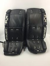 "Bauer RX4 Junior Ice Hockey Goalie Pads 26"" + 1"""