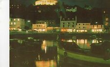postcard  Scottish Oban Harbour night view unposted Braemar Films