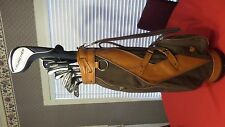 Cleveland Launcher Halo Complete Golf Set Irons Woods Wedges Hybrids  Bag Men RH
