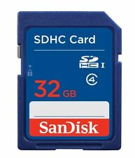 Genuine SanDisk 32GB SD SDHC Memory Card Class 4 For Digital Camera & Camcorder