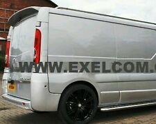 VAUXHALL VIVARO  REAR SPOILER fits 01-06 and 07  onwards. fits TRAFIC. PRIMASTAR