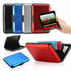 RFID Blocking Aluminum Credit Card Wallet - Holder - Case
