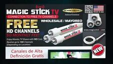 Original Magic Stick  Free TV PVC HD Indoor/Outdoor Antenna No Cable Made USA!