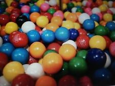"850 1"" ROUND SEALED DUUBLE BUBBLE GUMBALLS / GUM BALLS 8 FLAVORS / VENDING SIZE"