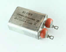 New GE .25uF 1000V PK Polypropylene/Paper Oil High Voltage Snubber Capacitor