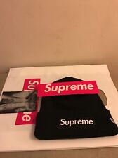 Supreme 2016 F/W Box Logo Era Winter Hat Beanie Black