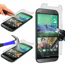 Genuine Premium Tempered Glass Film Screen Protector for HTC One M8s