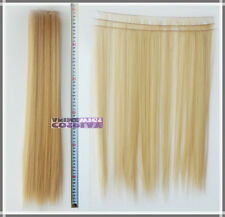 Beige Blonde Hair Weft Extention (3 pieces) - 60cm High Temp - Cosplay 7_086