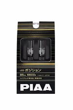 PIAA LED Position balb small lump 85lm 6600K T10 12 V 1 W 2 pieces from Japan