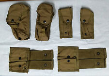 Lot of 6 each - USMC pouch, coyote brown, GENUINE U.S. MILITARY ISSUE #01