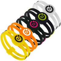 Bioflow Sport Twin Silicone Magnetic Therapy Wristband - Various Colours