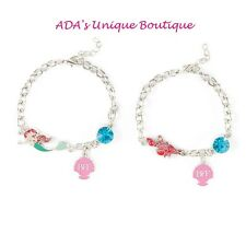 Disney The Little Mermaid Ariel BFF Charm Bracelet Best Friends Set 2 Sebastian