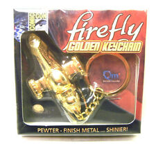 Serenity/Firefly Replica Gold Finish Metal Keychain- MIB!! FREE S&H