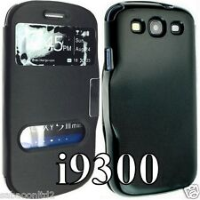 For Samsung Galaxy S3 SIII GT I9300 Smart Leather Flip Wallet Cover Back Case
