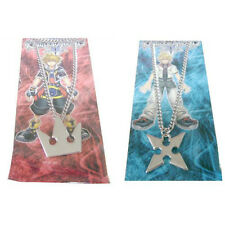 Kingdom Hearts Sora's Crown & Roxas's Cross Necklaces Cosplay Costume Accessory