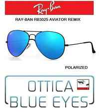 Occhiali da Sole RAYBAN AVIATOR 3025 Ray Ban REMIX BLACK 002/4L POLAR sunglasses