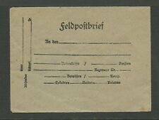 GERMANY WW1 MINIATURE ENVELOPE FELDPOST...UNUSED