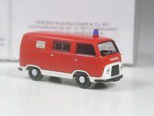Wiking Serienmodell Ford FK 1000 Taunus Transit Feuerwehr in OVP