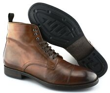 S - Men's TO BOOT NEW YORK 'Stallworth' Cap Toe Boots US 9 - D (Brown)
