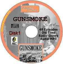 Gunsmoke 50 Old Time Radio Episodes Audio MP3 CD OTR disk 2 William Conrad
