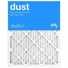 Best for Dust Control-AiRx Dust 16x20x1 Furnace Filters-Box of 6-Pleated-MERV 8