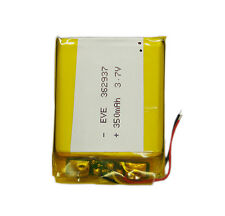 rechargeable battery 3.7V 350mAh 362937 lithum liion with for MP3 MP4 Bluetooth