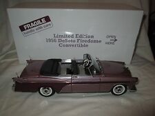 Danbury Mint 1956 Limited Edition Desoto Firedome Convertible 1:24 Scale Diecast