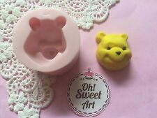 Winnie pooh complete face silicone mold fondant cake decorating APPROVED FOOD